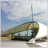Tensile Structures, Car Parking Tensile Structure, Auditorium Tensile Structure, Polycarbonate Structure, Walkway Covering Structure, Gazebo Tensile Structure, Swimming Pool Tensile Covering, Tensile Membrane Structures