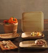 Areca Palm Leaf Plates In Square, Round And Special Designs